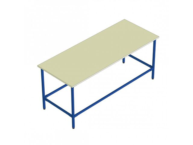 Kit table de travail longueur 2000 contact provost - Table de travail de boucher ...
