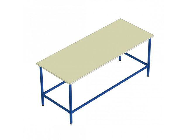 Kit table de travail longueur 2000 contact provost - Table de travail de boucher ...