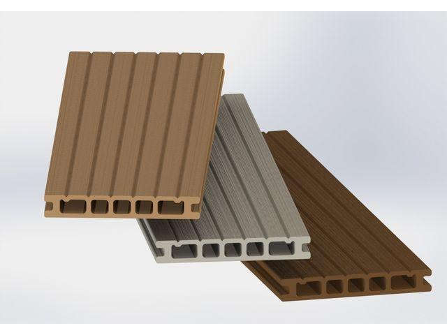 lames de terrasses en bois composite contact plastil solutions plastiques. Black Bedroom Furniture Sets. Home Design Ideas