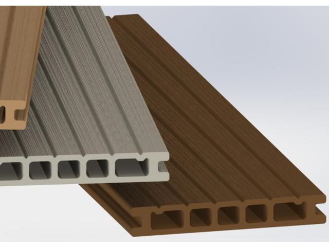 Lames de terrasses en bois composite contact plastil solutions plastiques - Prix terrasse en composite ...