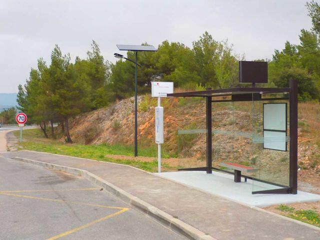 lampadaire solaire autonome 30 w contact fonroche eclairage. Black Bedroom Furniture Sets. Home Design Ideas