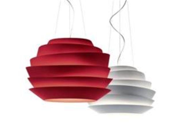 lampe suspension le soleil contact terre design. Black Bedroom Furniture Sets. Home Design Ideas
