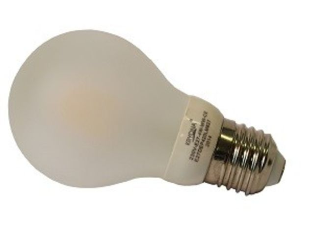 Lampe E27 Filament LED dépolie - 4 WATT