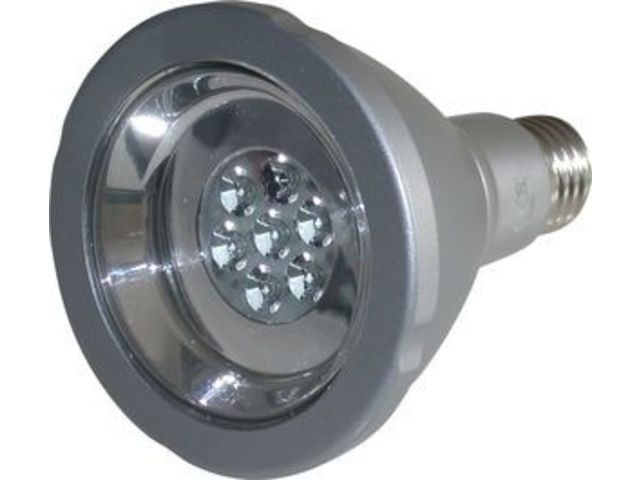 Lampe par30 led 12 watt 7 led cree xpe contact numerell for Lampe 600 watt