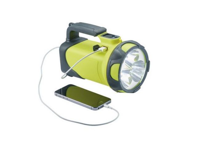 Lampe Torche Led Rechargeable Trio550 Ip54 Contact Sunnex