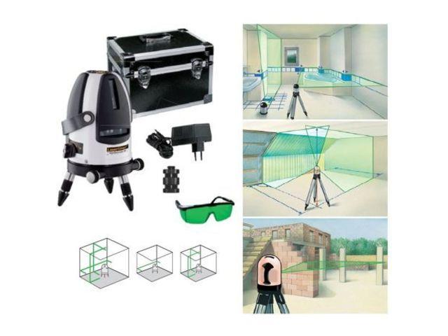 laser en croix avec 3 lignes laser vert greenline. Black Bedroom Furniture Sets. Home Design Ideas