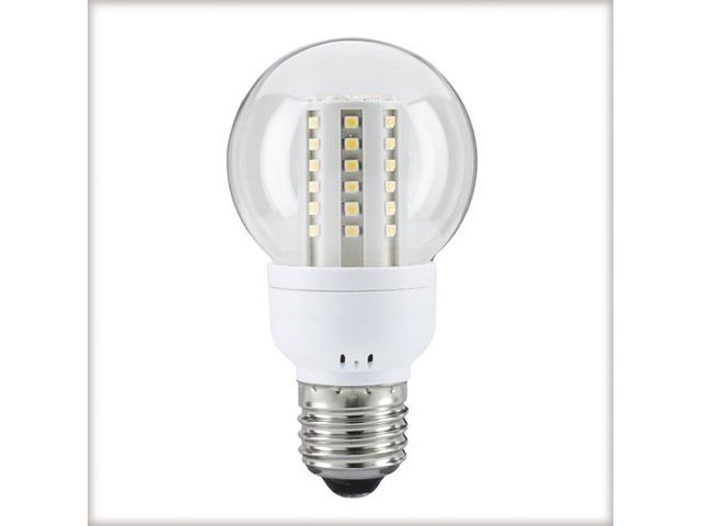 LED Std 3W E27 clair blc chd 60LED_SBF
