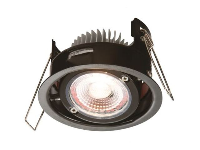 Led Tilt 8w Ip20  Fire Rated 2700k