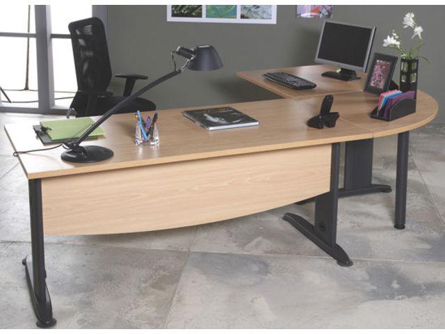 les bureaux classiques pieds t ou l ligne azari contact manutan collectivites ex camif. Black Bedroom Furniture Sets. Home Design Ideas