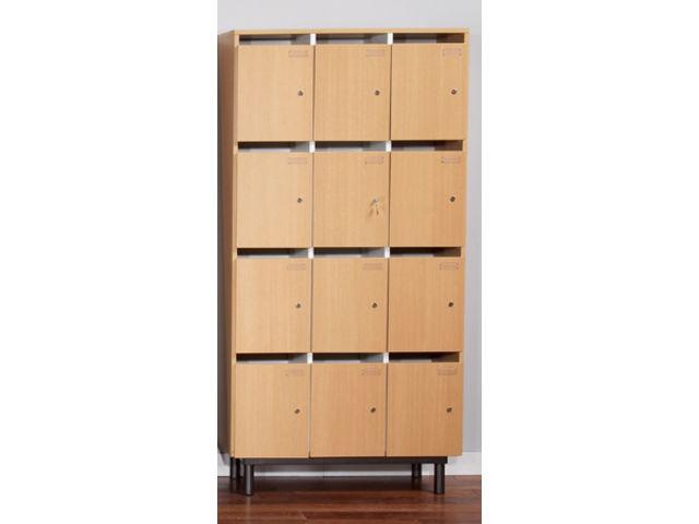Les meubles professeur 12 cases contact manutan for Meuble 12 cases