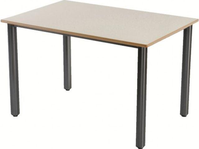 Les tables 4 pieds ligne sixties contact manutan collectivites ex camif collectivites - Table camif ...