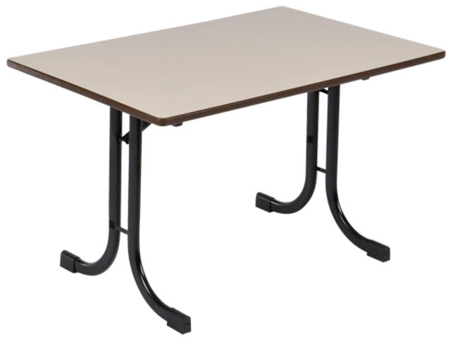 Les tables pliantes ligne ideal pi tement courbe contact manutan collectivites - Tables collectivites pliantes ...