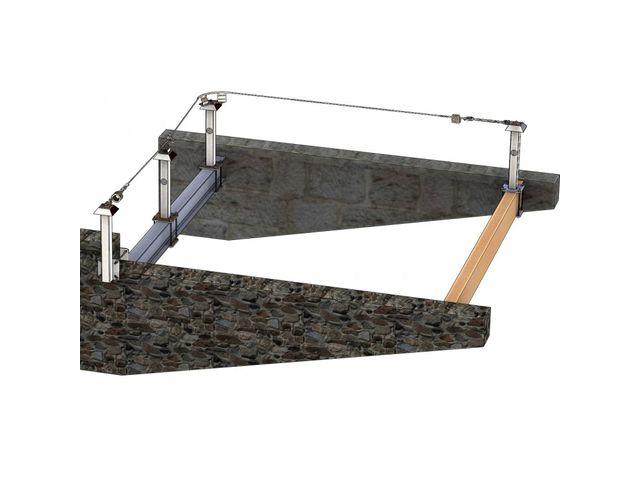 ligne de vie brider ou crapauter pour charpente m tallique et bois contact pluceo. Black Bedroom Furniture Sets. Home Design Ideas