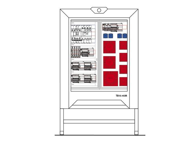location armoire de chantier 160a triphas e. Black Bedroom Furniture Sets. Home Design Ideas