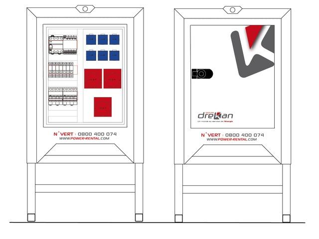 location coffret de chantier 32a triphas. Black Bedroom Furniture Sets. Home Design Ideas