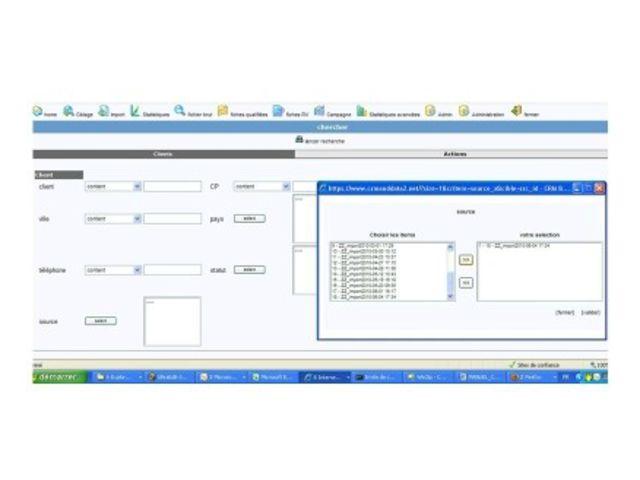 Logiciel Centre D Appel Call Center Pro Voip Contact Crm Data