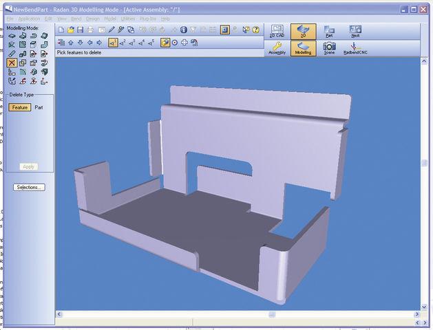Logiciels d tudes 2d 3d contact radan logiciels fao cfao for Application dessin 3d