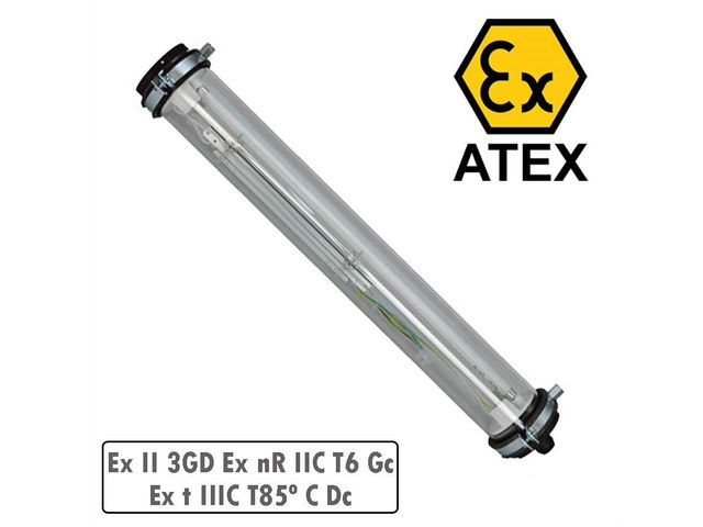 Luminaire LED ATEX SECURE 120 18W Tubulaire IP68-2 LEDLUM112ATEX_AIRIS PARIS_2
