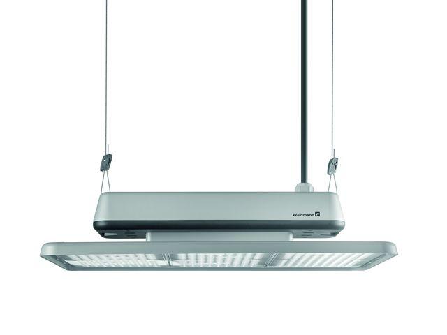 luminaire led grande hauteur pour l 39 clairage de halls d 39 ateliers et de halls logistiques. Black Bedroom Furniture Sets. Home Design Ideas
