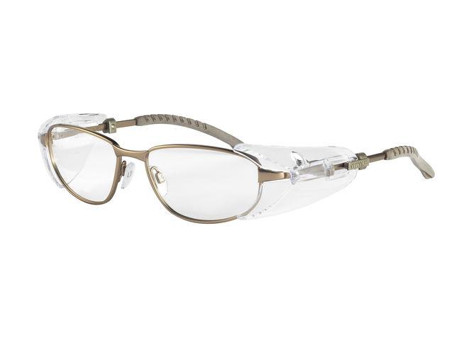 Lunettes à monture en métal pour protection d yeux   Contact ... 29d229d446cc