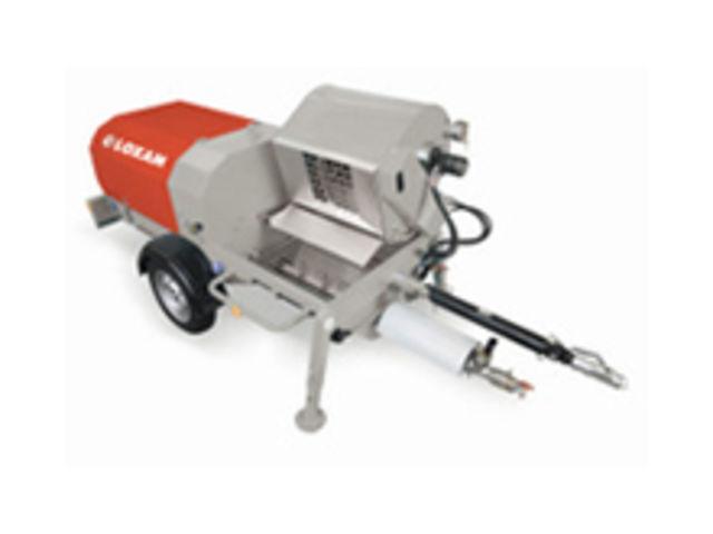 machine à projeter les enduits extérieurs, diesel   contact loxam