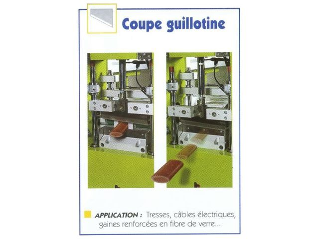 Machine de coupe - gaines / profils / tubes - LESCUYER VILLENEUVE