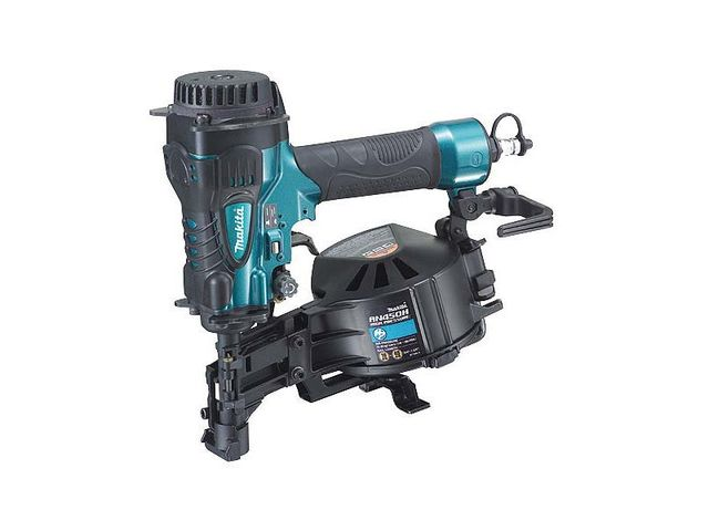 MAKITA-CLOUEUR A HAUTE PRESSION CHARPENTE EN ROULEAUX 19-45mm-AN450H
