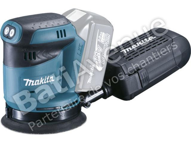 makita ponceuse excentrique batterie 125 mm machine. Black Bedroom Furniture Sets. Home Design Ideas