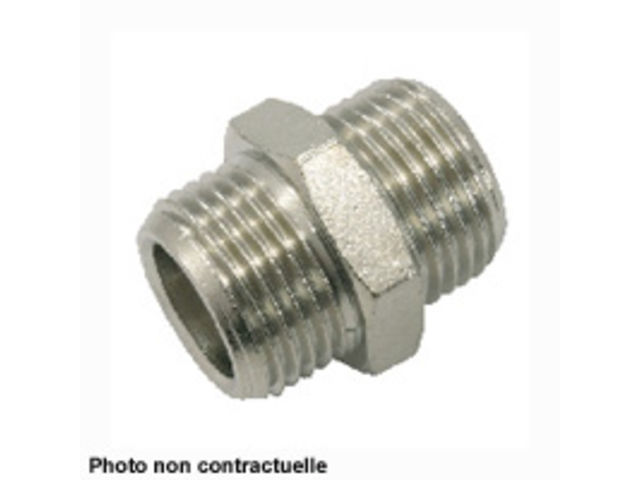 MAMELON DOUBLE CYLINDRIQUE 1G X 1G