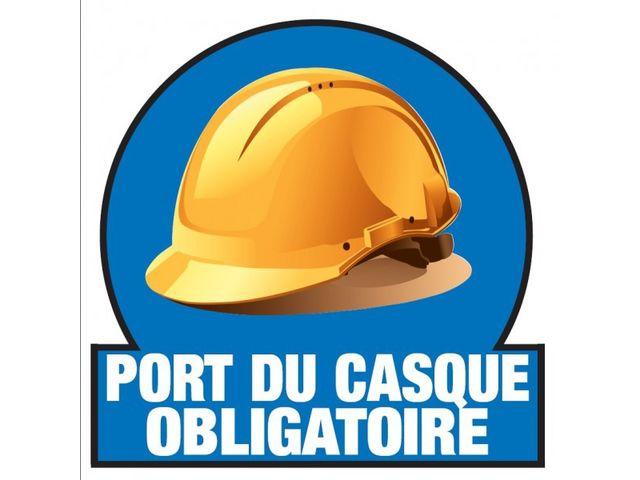 Page 16 autocollants et pictogrammes fournisseurs industriels - Port du casque obligatoire ...