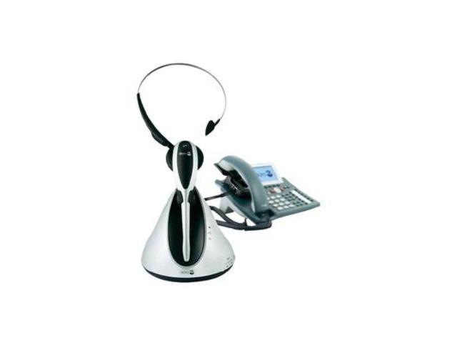 micro casque sans fil dect headset doro hs1910 avec. Black Bedroom Furniture Sets. Home Design Ideas