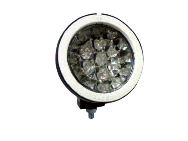 micro phares de travail ronds led longue port e fixe contact maitre equipement. Black Bedroom Furniture Sets. Home Design Ideas