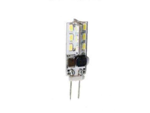 mini ampoule led g4 360° 24 leds smd lumière du jour (12v/24v