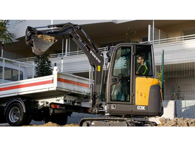 mini pelle hydraulique : ec20c | contact volvo construction equipment
