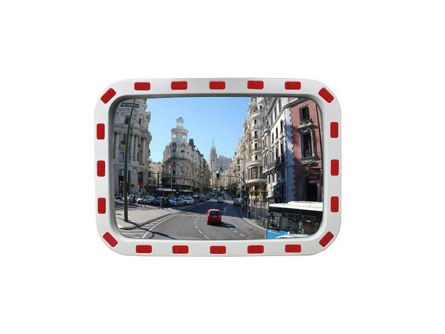 Miroir de surveillance rectangulaire contact roll co for Miroir de surveillance