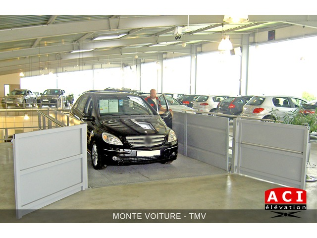 Monte-voiture TMV - TMV2X - ACI ELEVATION