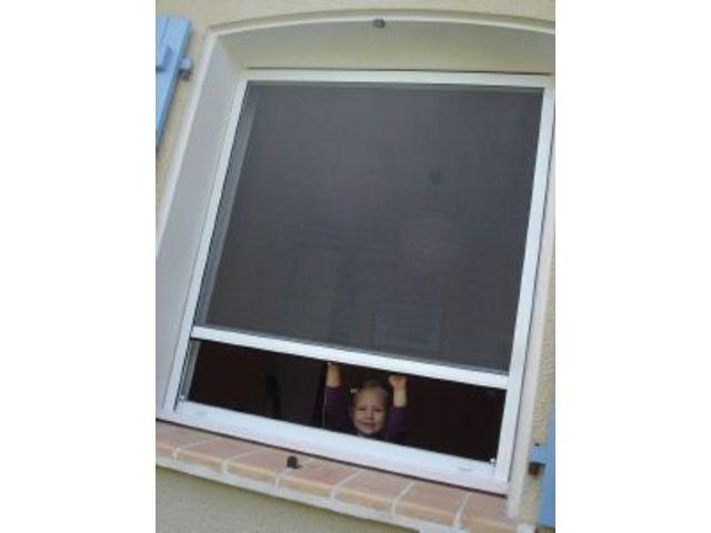 moustiquaire sur mesure sans ralentisseur moho35. Black Bedroom Furniture Sets. Home Design Ideas