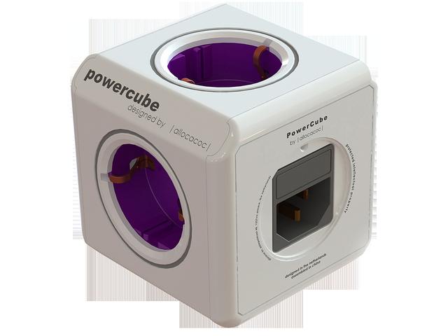 multiprise powercube avec 2 ports usb et connecteur iec. Black Bedroom Furniture Sets. Home Design Ideas