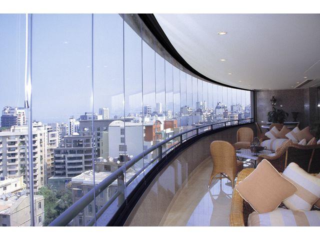 Mur De Verre mur de verre entierement escamotable pour balcons et terrasses sans