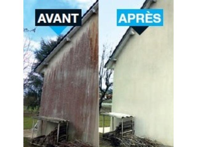 Nettoyage de fa ades et toitures contact netto decor proprete - Nettoyage des facades de maison ...