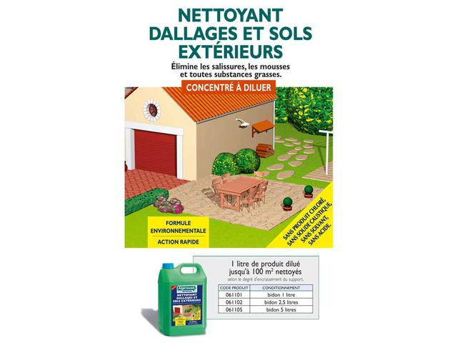 Nettoyant dallage et sol ext rieur contact algimouss for Nettoyer des paves autobloquants