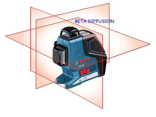 niveau laser bosch 3 lignes gll3 80p contact beta diffusion. Black Bedroom Furniture Sets. Home Design Ideas