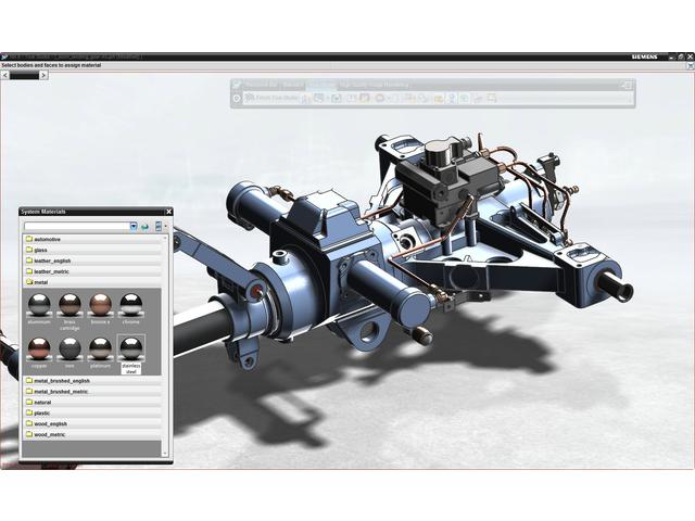 Nx cao logiciel de conception num rique contact siemens for Logiciel de conception