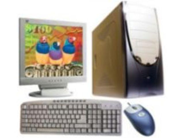 Ordinateur de bureau : puissance intel piv cadencé à 2.4 ghz écran