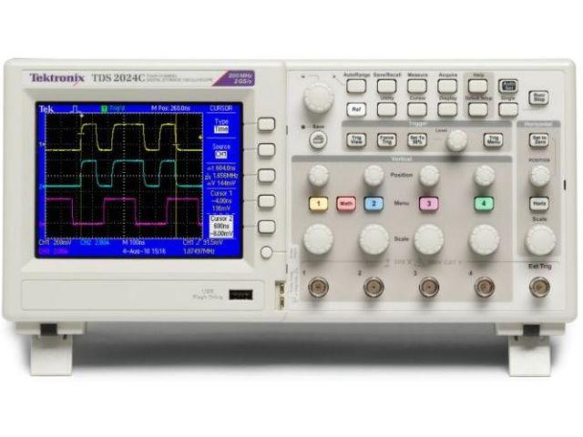 Pro Tek Oscilloscope : Oscilloscope tektronix tds c contact testoon