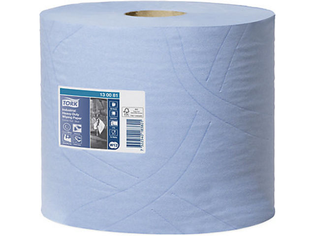 Ouate Tork® PLUS bleue - CENPAC (EMBALLAGES)