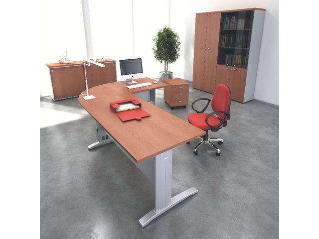 pack co t tris bureau droit angle 90 bureau mobile. Black Bedroom Furniture Sets. Home Design Ideas
