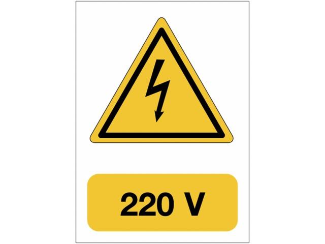 Pied protection doit être porté obligatoire De Sécurité Signe Autocollant A5 t