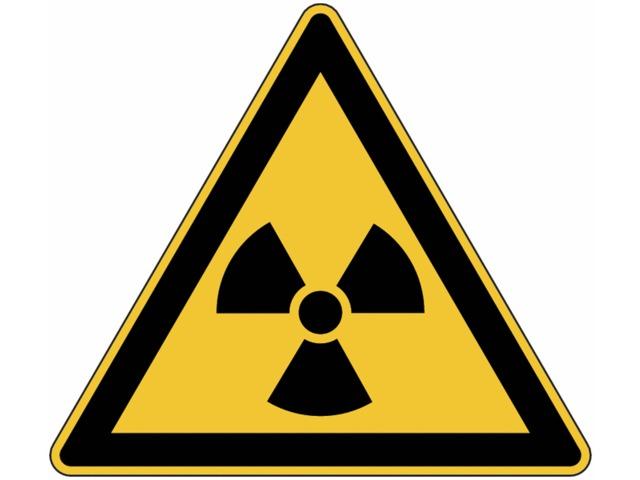 panneau de danger en aluminium mati res radioactives ou radiations ionisantes contact seton. Black Bedroom Furniture Sets. Home Design Ideas