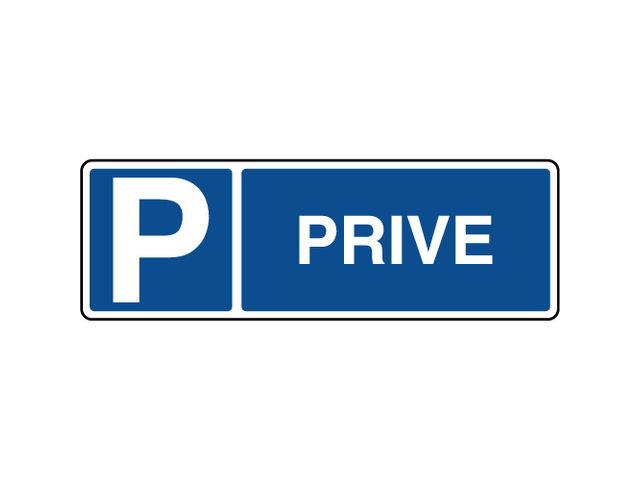 panneau horizontal de parking priv contact virages. Black Bedroom Furniture Sets. Home Design Ideas